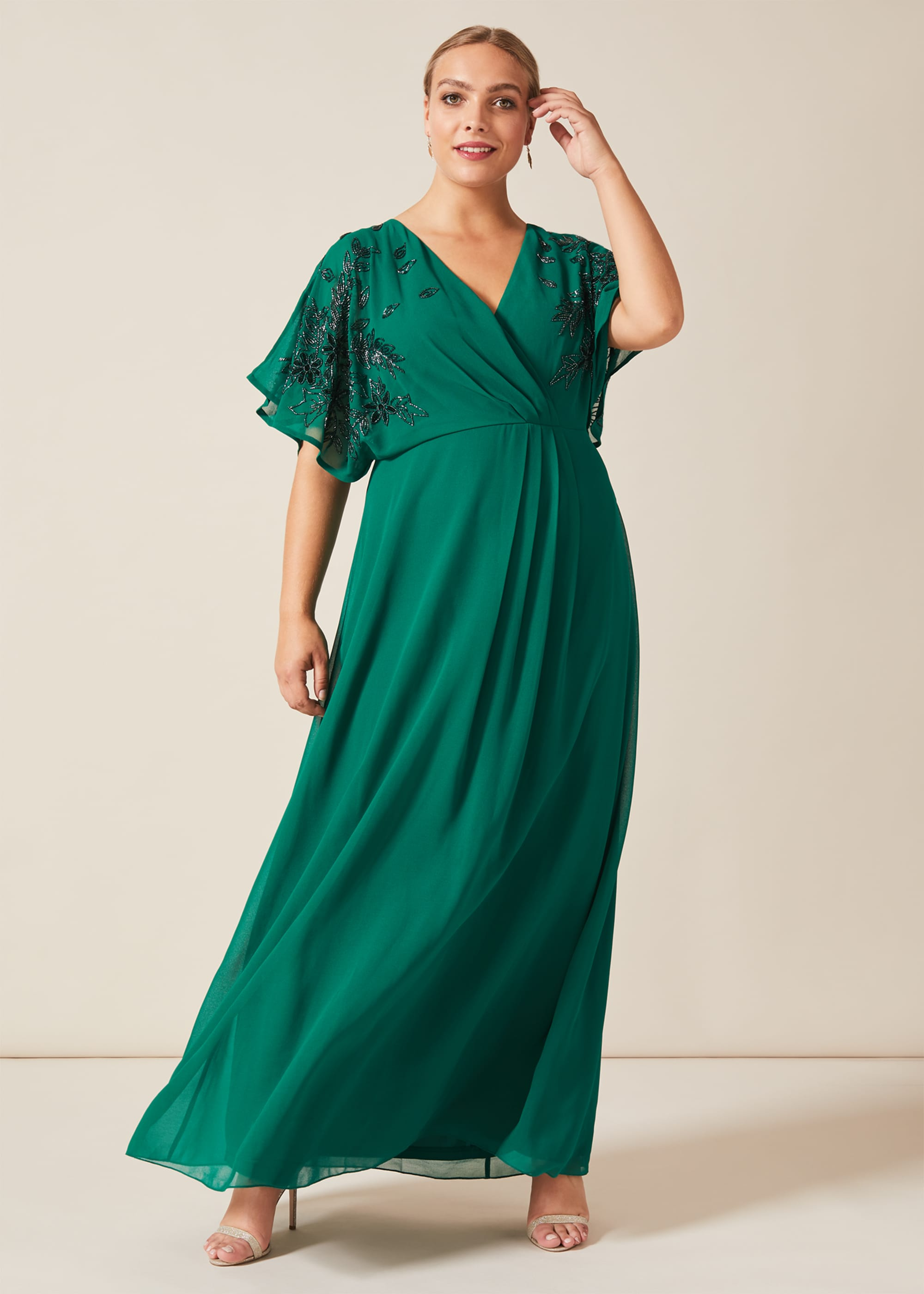 Studio 8 Women Tabitha Beaded Maxi Dress
