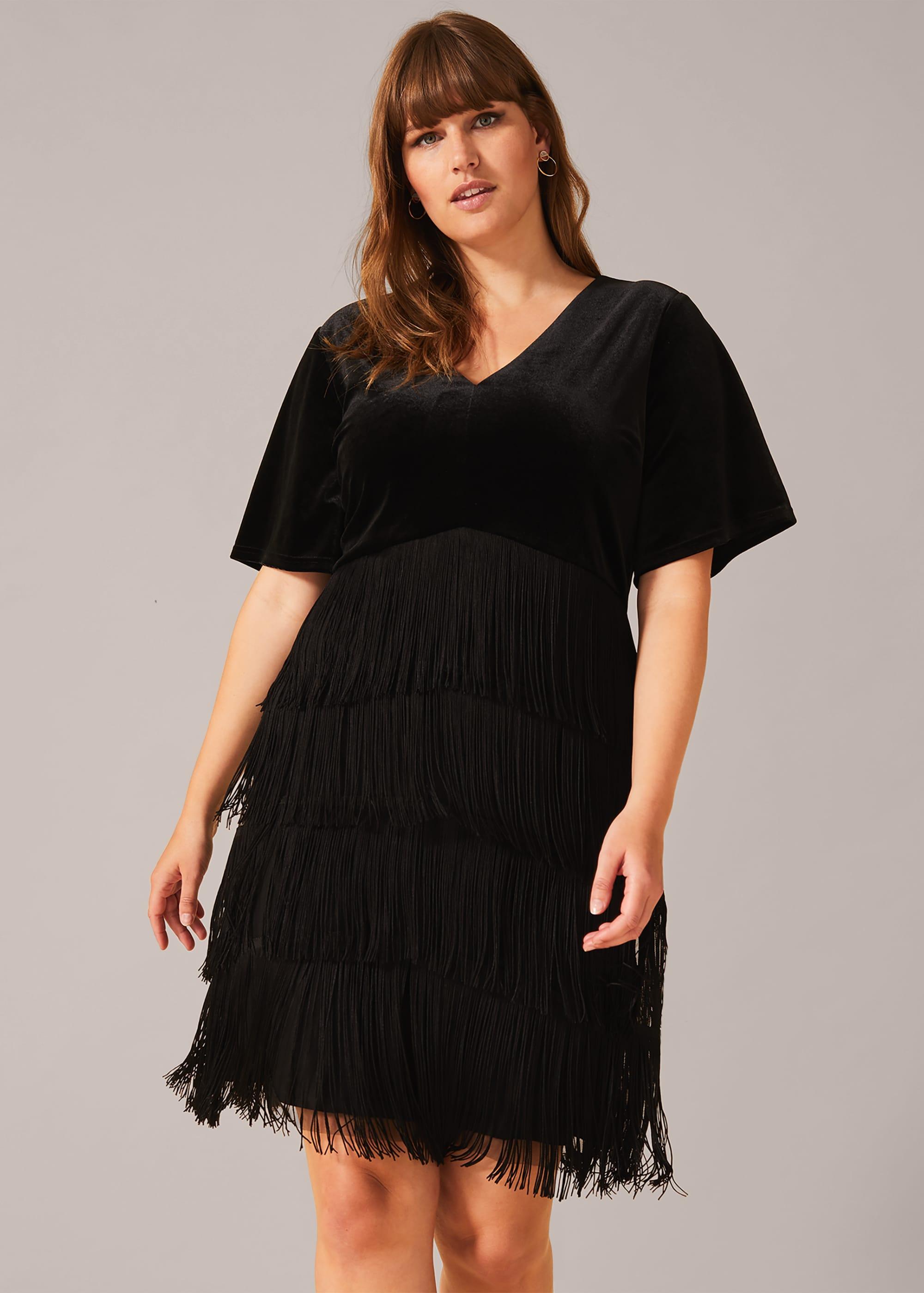Studio 8 Women Felicity Fringe Dress