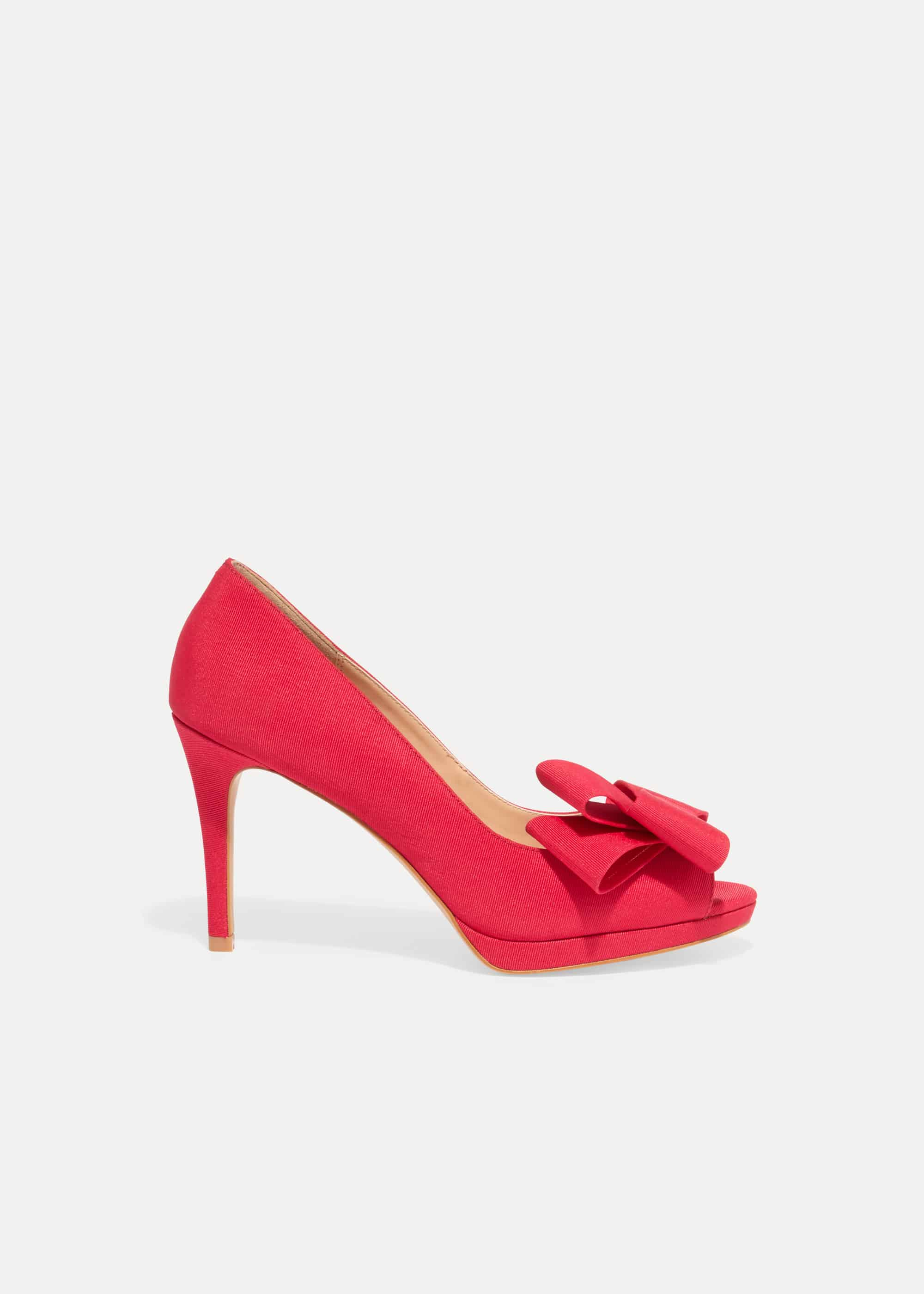Phase Eight Women Tilly Peep Toe Shoes