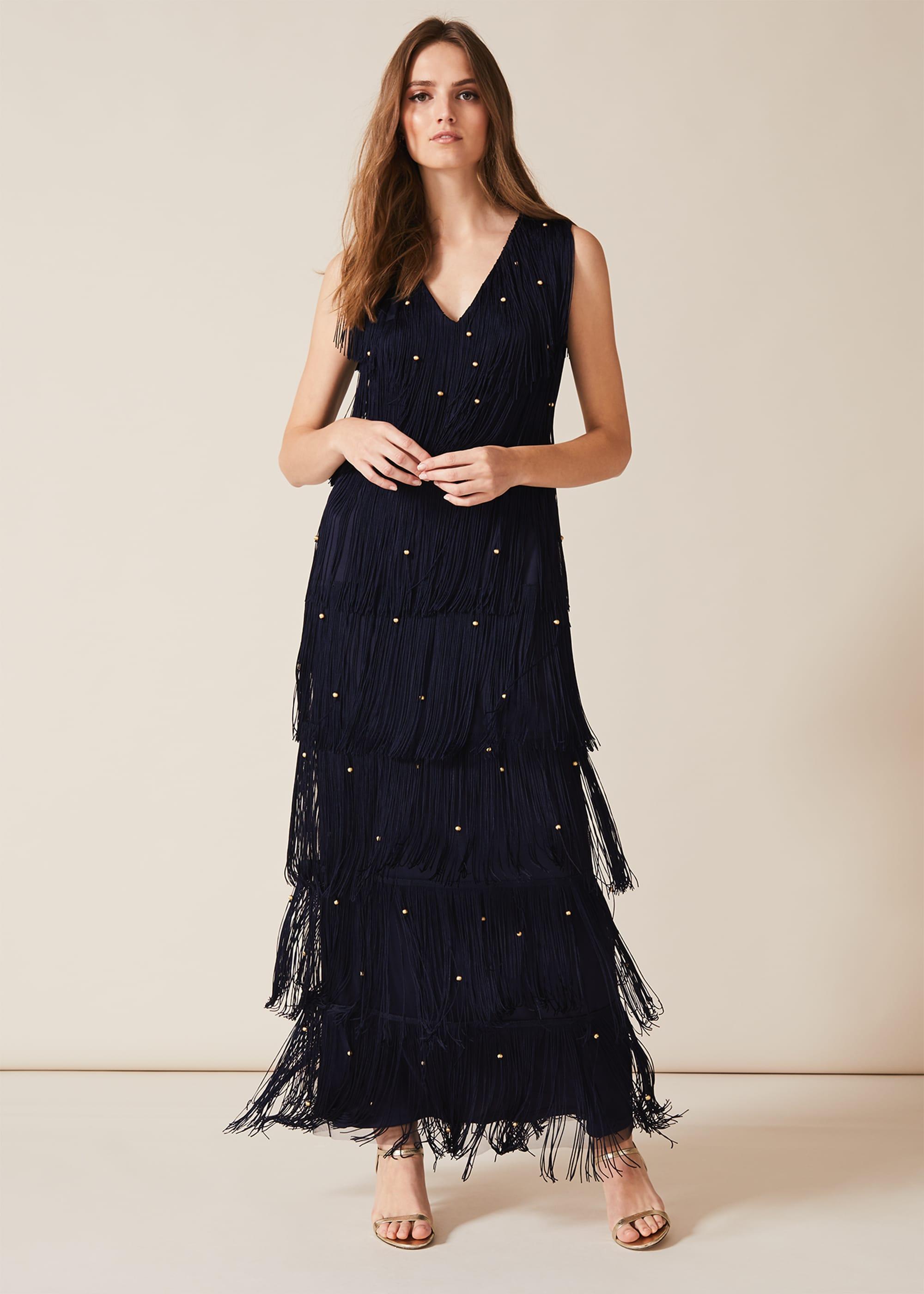 Phase Eight Women Kandice Fringe Maxi Dress