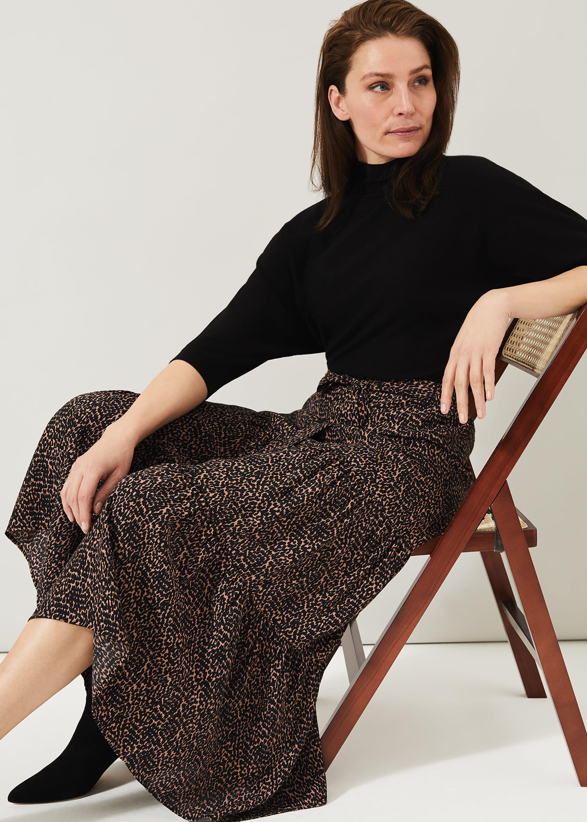 Phase Eight Women Penele Print Maxi Skirt