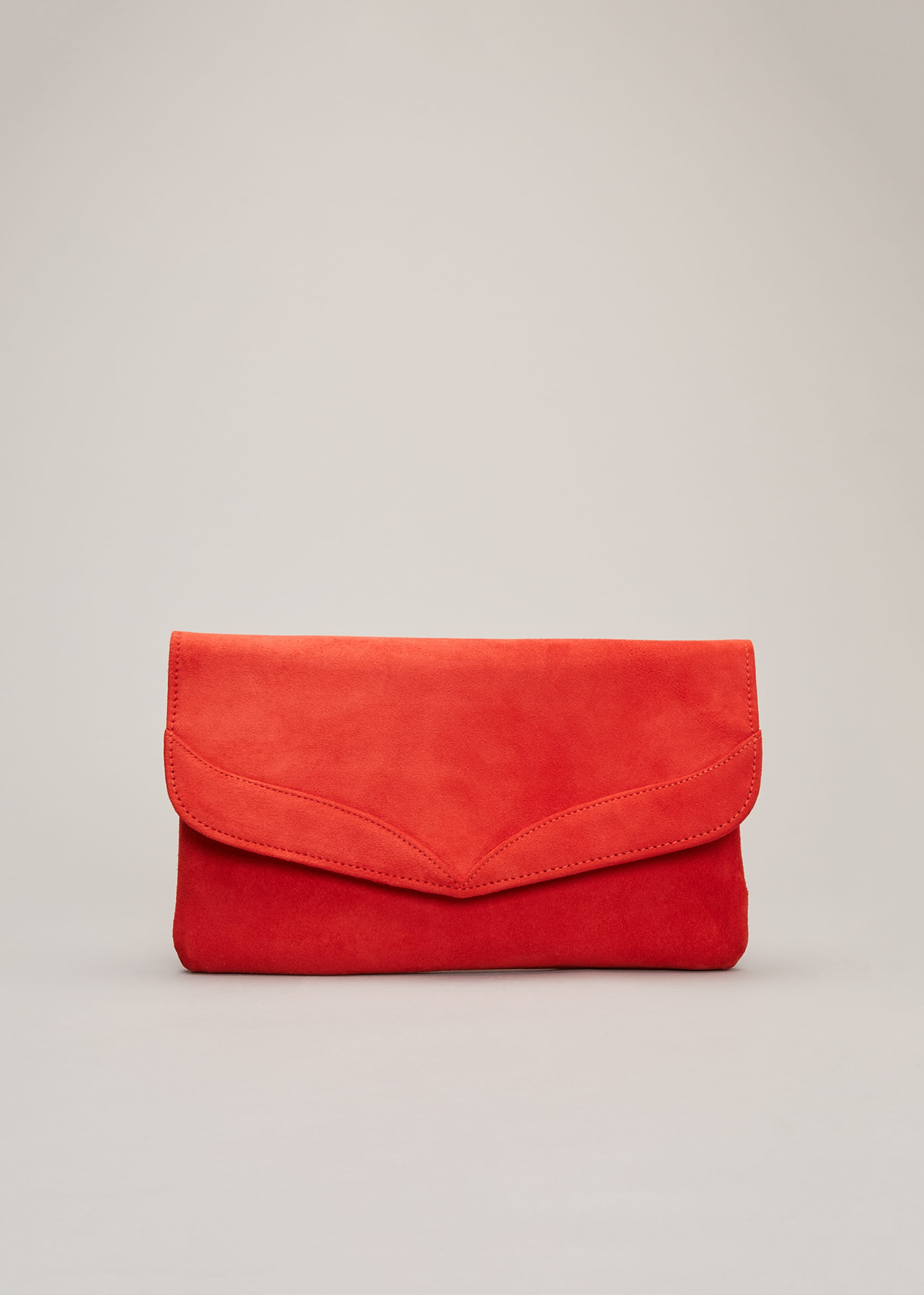 Phase Eight Women Caitlin Suede Clutch Bag
