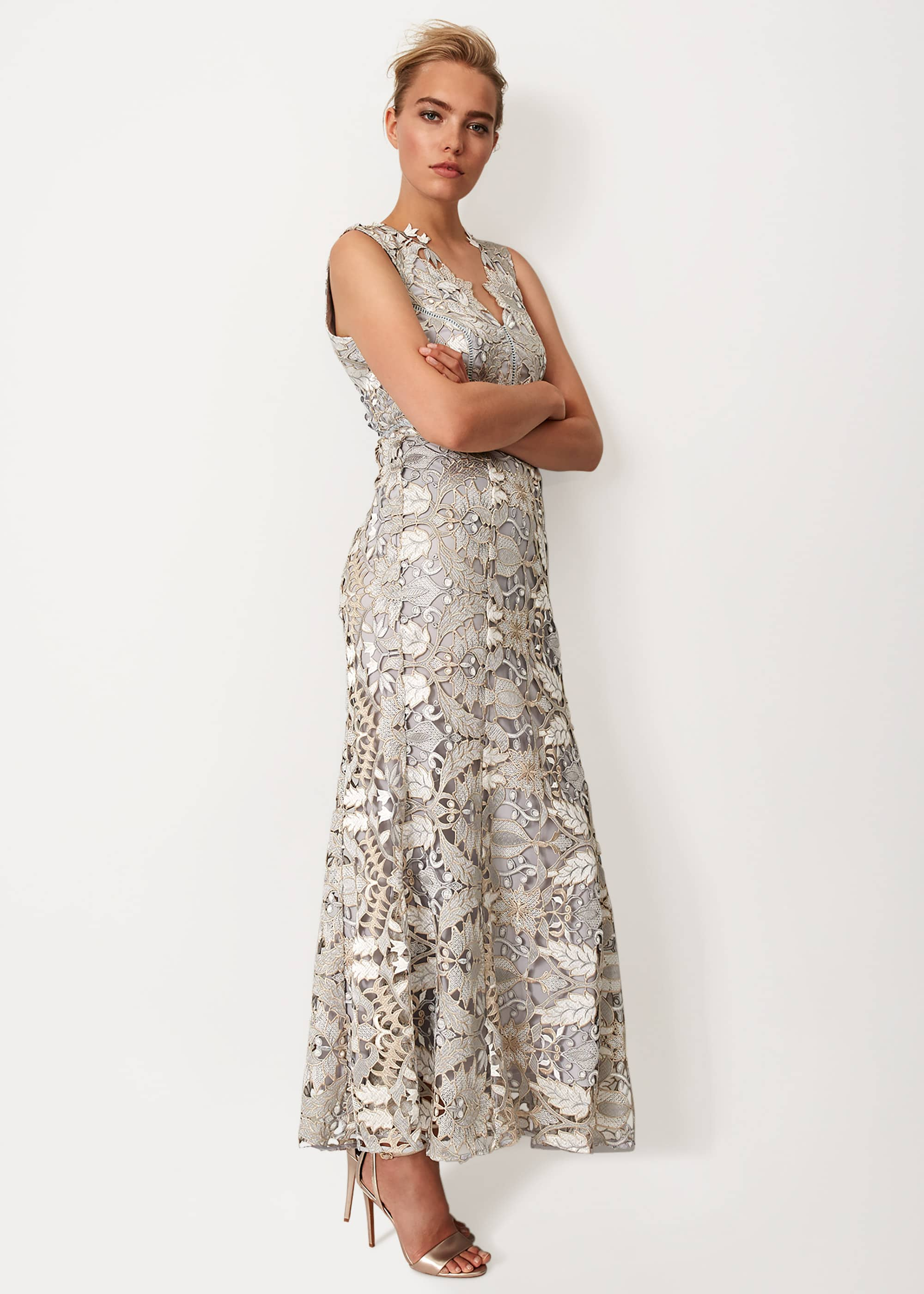 Phase Eight Women Zoey Lace Maxi Dress