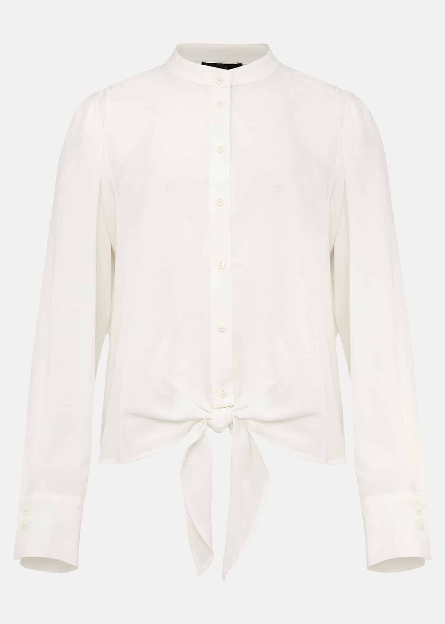 Phase Eight Women Maura Tie Front Blouse