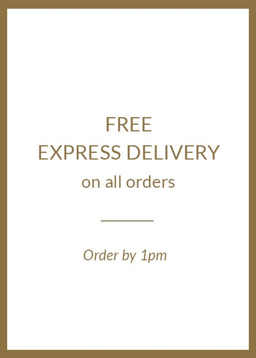 Free EXPRESS Delivery on all orders | Order by 1pm