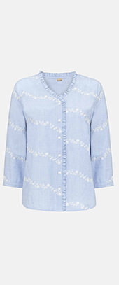 Daisy Embroidered Shirt