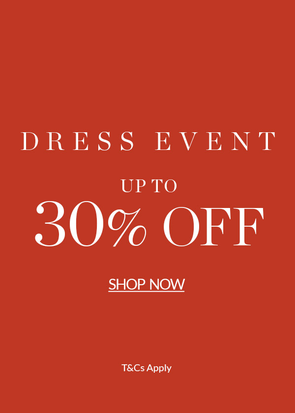 30% off selected dresses