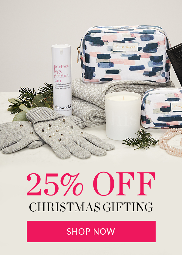 25% off Christmas Gifting