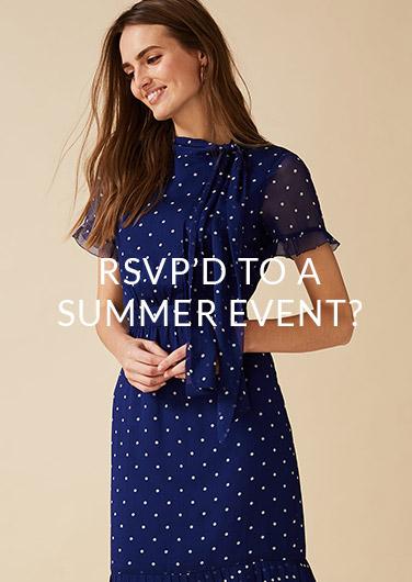 RVSP'D to a summer event