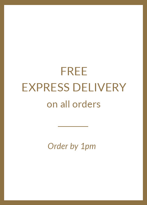Free EXPRESS Delivery on all orders | Order by 1pm =