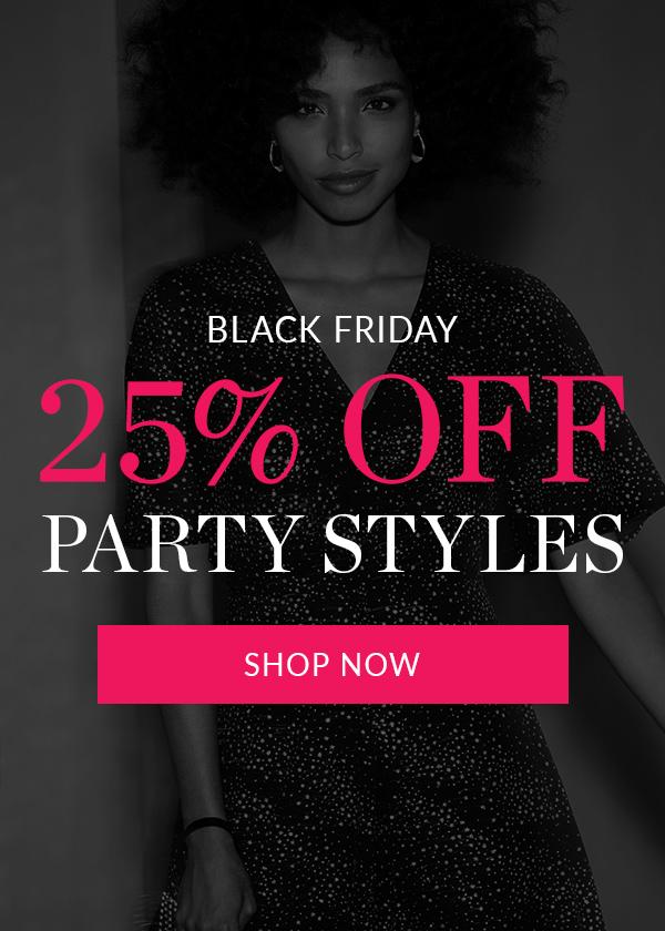 25% off Partywear